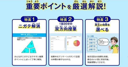 進研ゼミ秋のオンライン授業